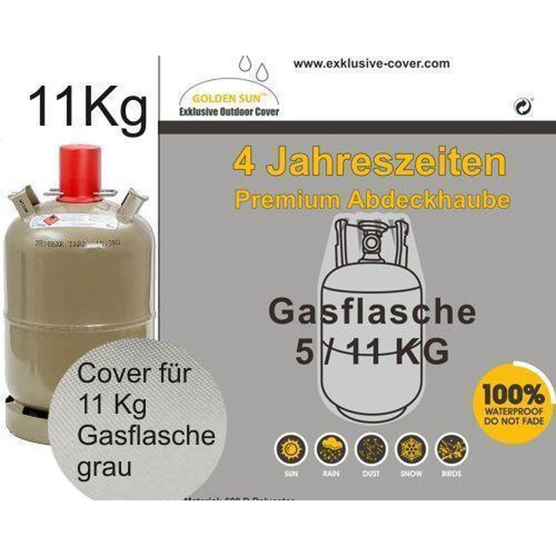 premium cover schutzh lle f r gasflasche size l 11 kg t. Black Bedroom Furniture Sets. Home Design Ideas