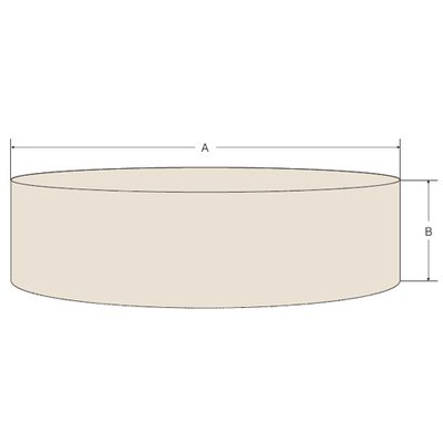 SPA Cover Round Size L carbon, Ø 212 x 68 cm, heavy duty 600D Polyester