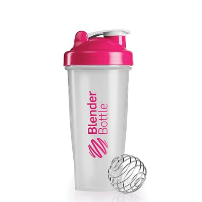 Blender Bottle Classic 820 ml transparent/ pink