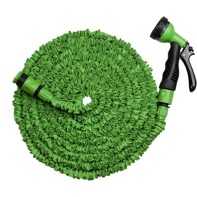 MAGIC FleXx Flexibler Gartenschlauch, 10 > 30 Meter, green, 8 in 1 Düse mit Feststellfunktion