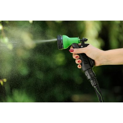 MAGIC FleXx 8 in 1 Spray Gun, Multifunktionsdüse mit Feststellfunktion und Grip FleXx Griffl, EU Norm Verschluss