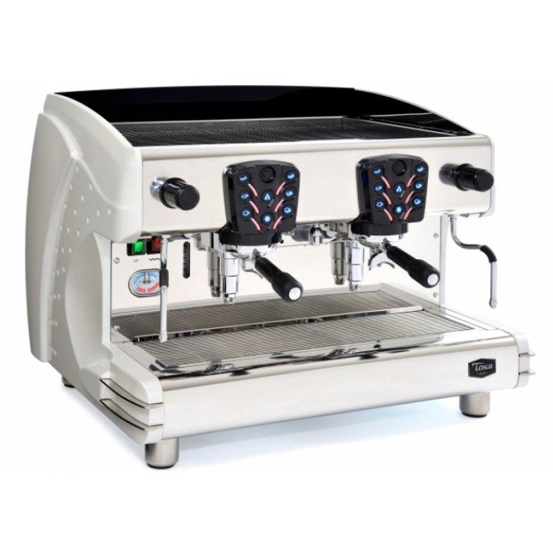 La Scala Tosca Espresso Maschine A/2 (Silver), 2 Kreislaufsystem, 15
