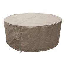 SPA Cover Round Size L beige, Ø 212 x 68 cm, heavy duty...